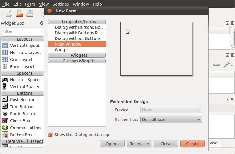 Disegnare una UI con Qt Designer